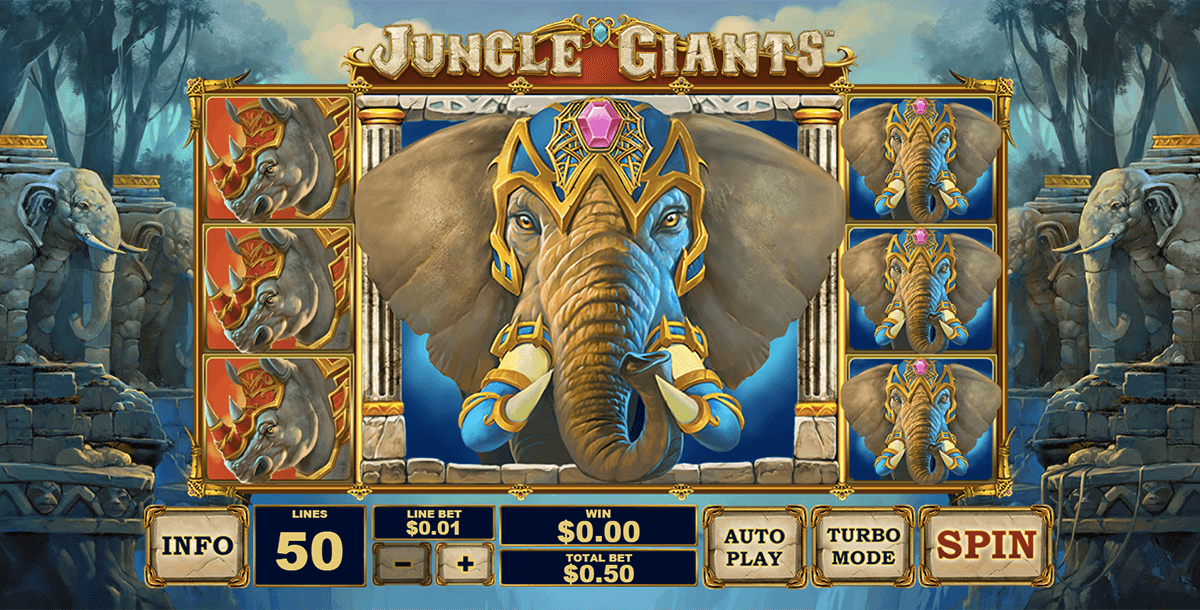 jungle giants playtech tragamonedas gratis