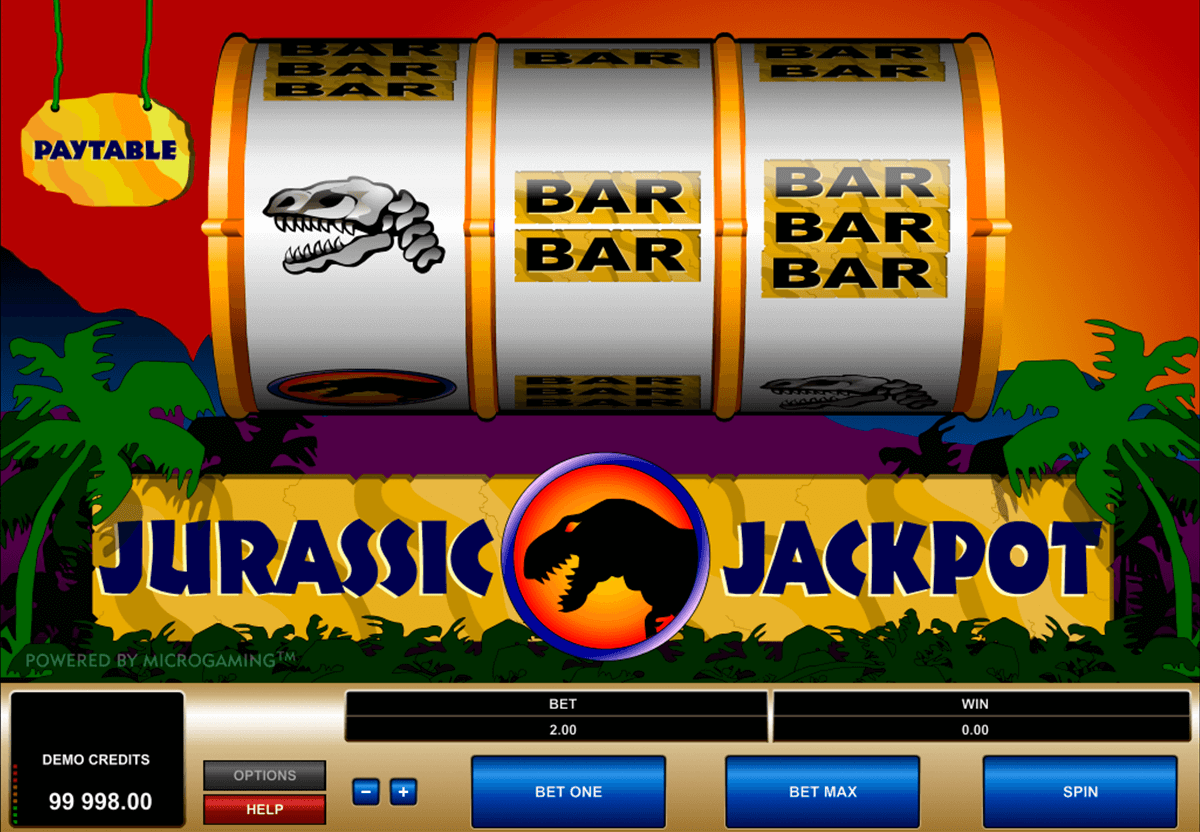 jurassic jackpot microgaming tragamonedas gratis