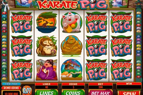 karate pig microgaming tragamonedas gratis