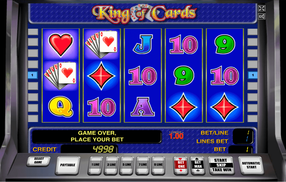 king of cards novomatic tragamonedas gratis
