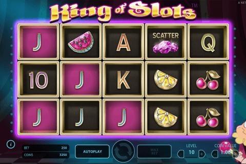 king of slots netent tragamonedas gratis