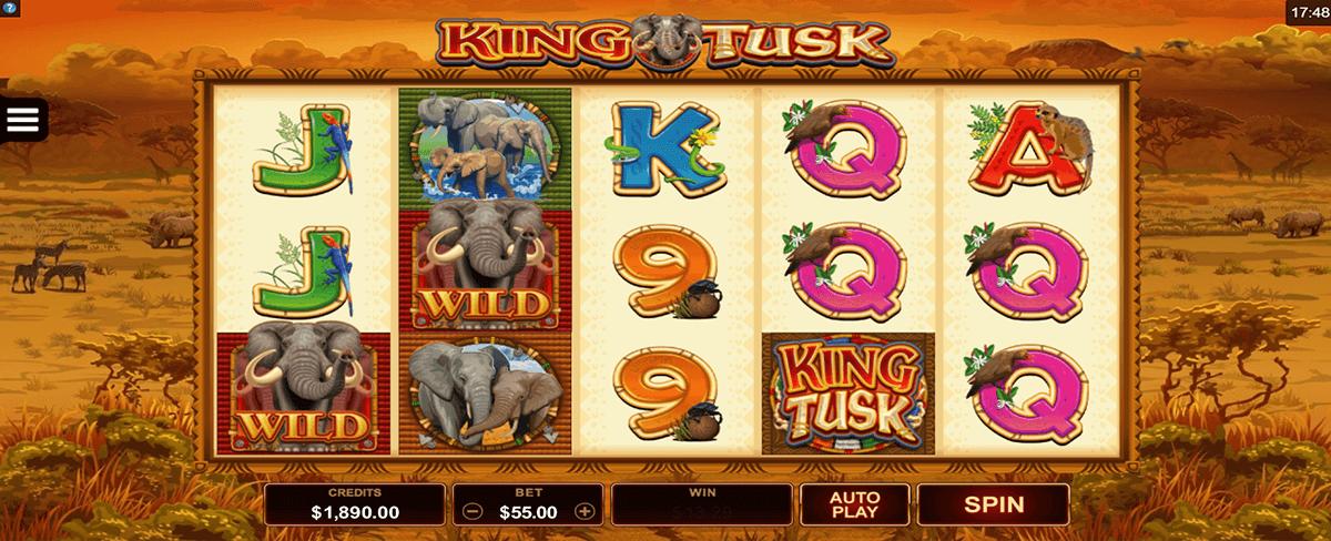 king tusk microgaming tragamonedas gratis