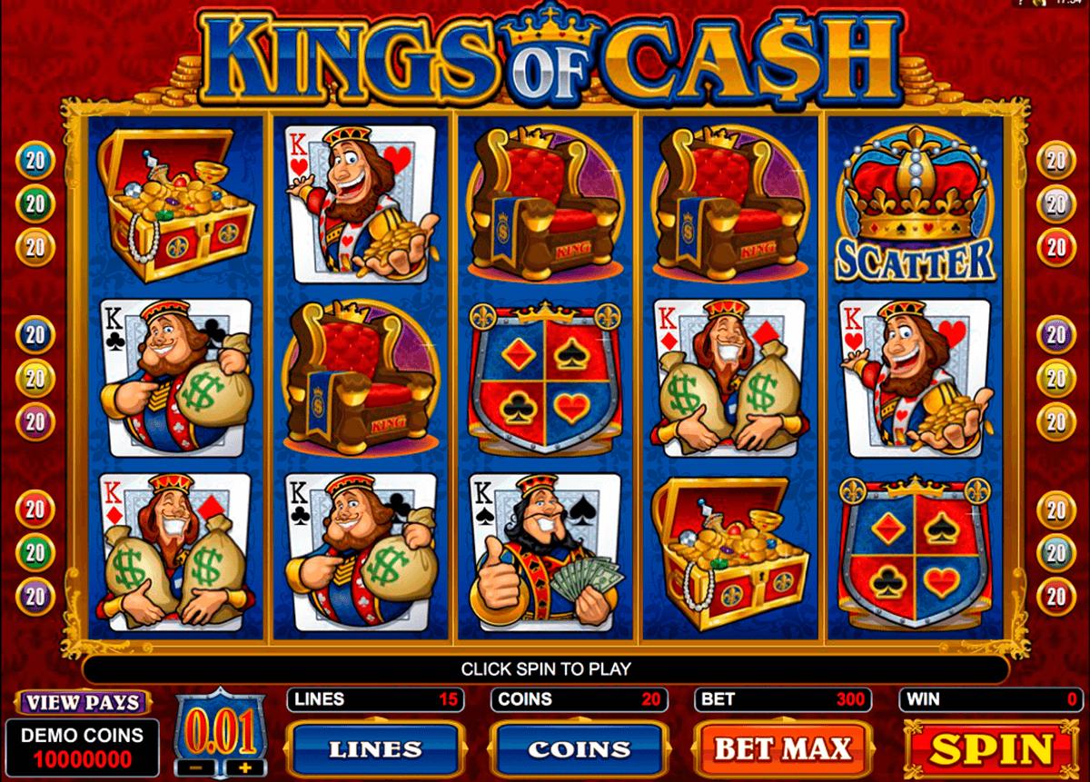kings of cash microgaming tragamonedas gratis