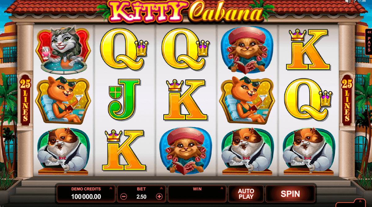 kitty cabana microgaming tragamonedas gratis