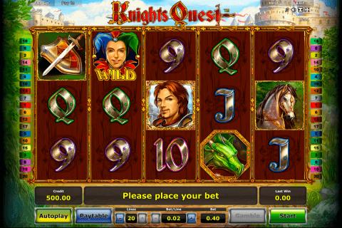 knights quest novomatic tragamonedas gratis