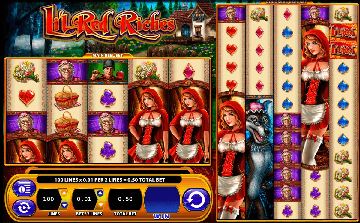lil red riches wms tragamonedas gratis
