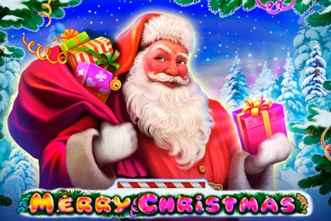 logo merry christmas playson