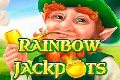 logo rainbow jackpots red tiger