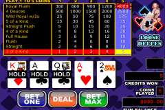 loose deuces video poker rtg