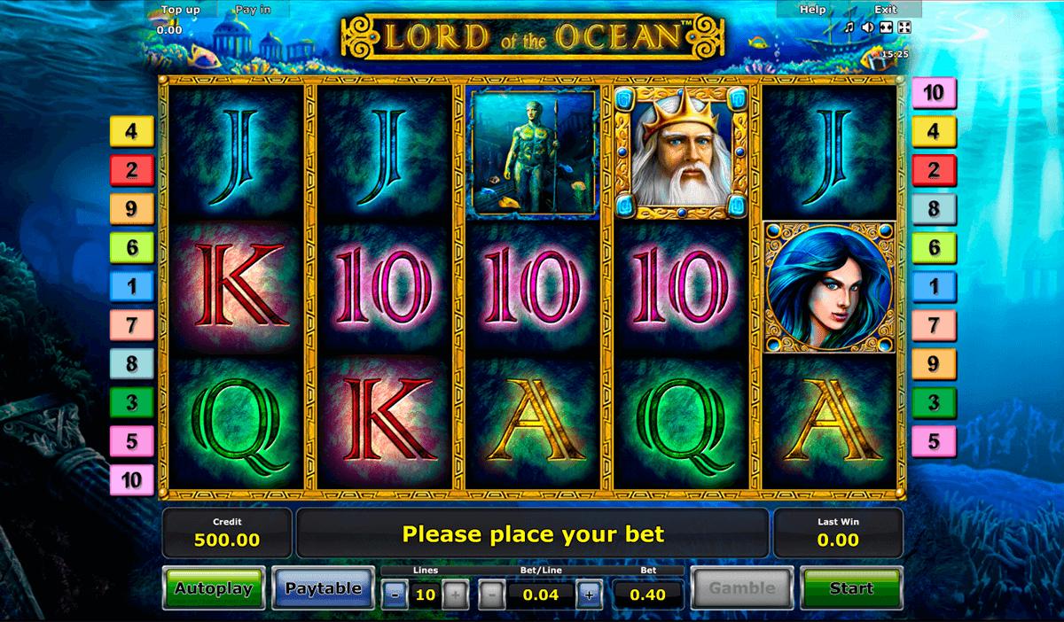 lord of the ocean novomatic tragamonedas gratis