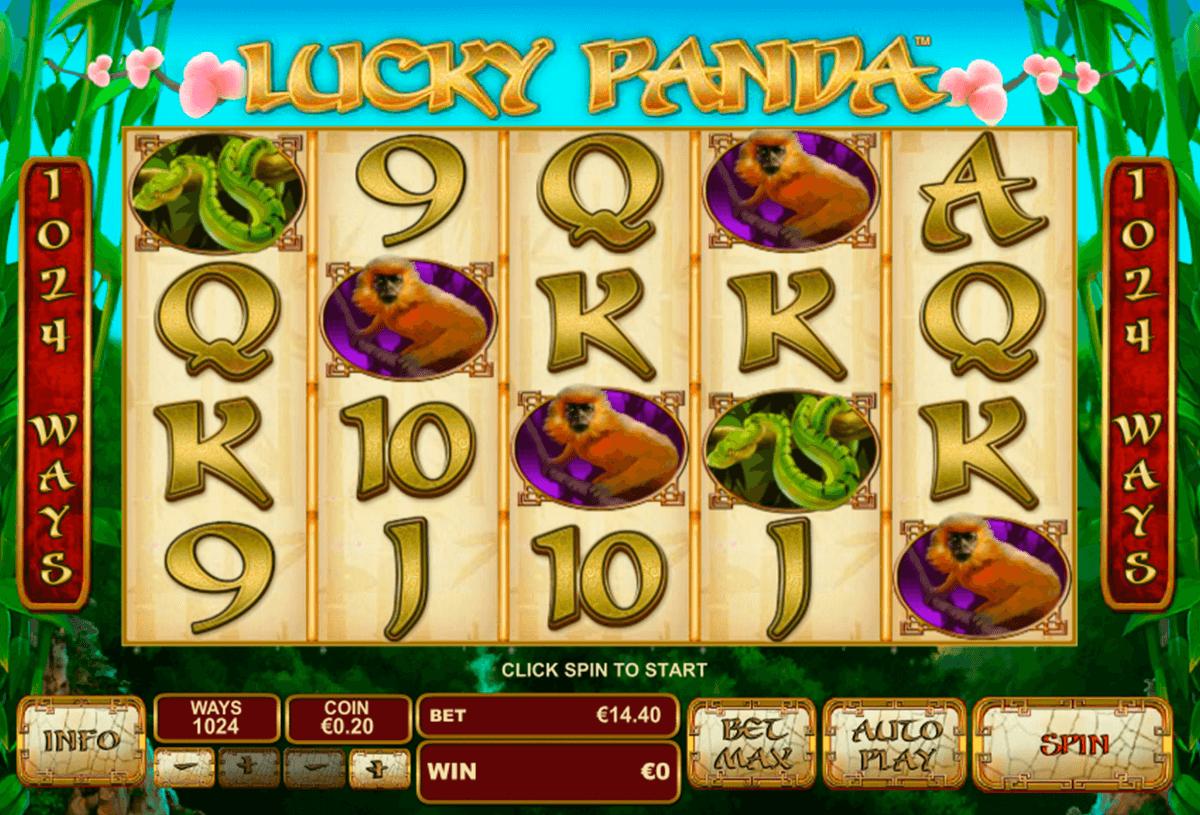 lucky panda playtech tragamonedas gratis