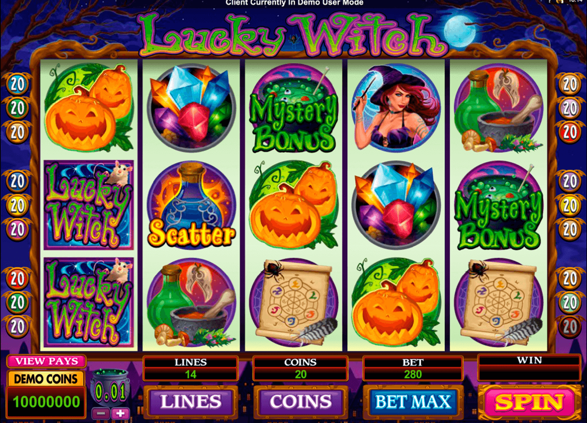 lucky witch microgaming tragamonedas gratis