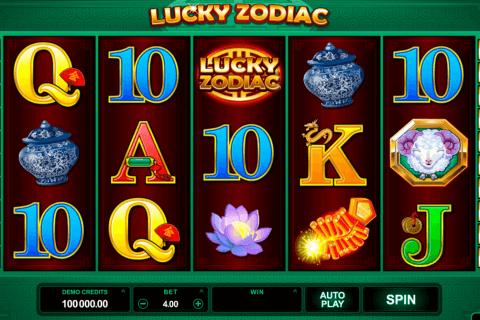 lucky zodiac microgaming tragamonedas gratis