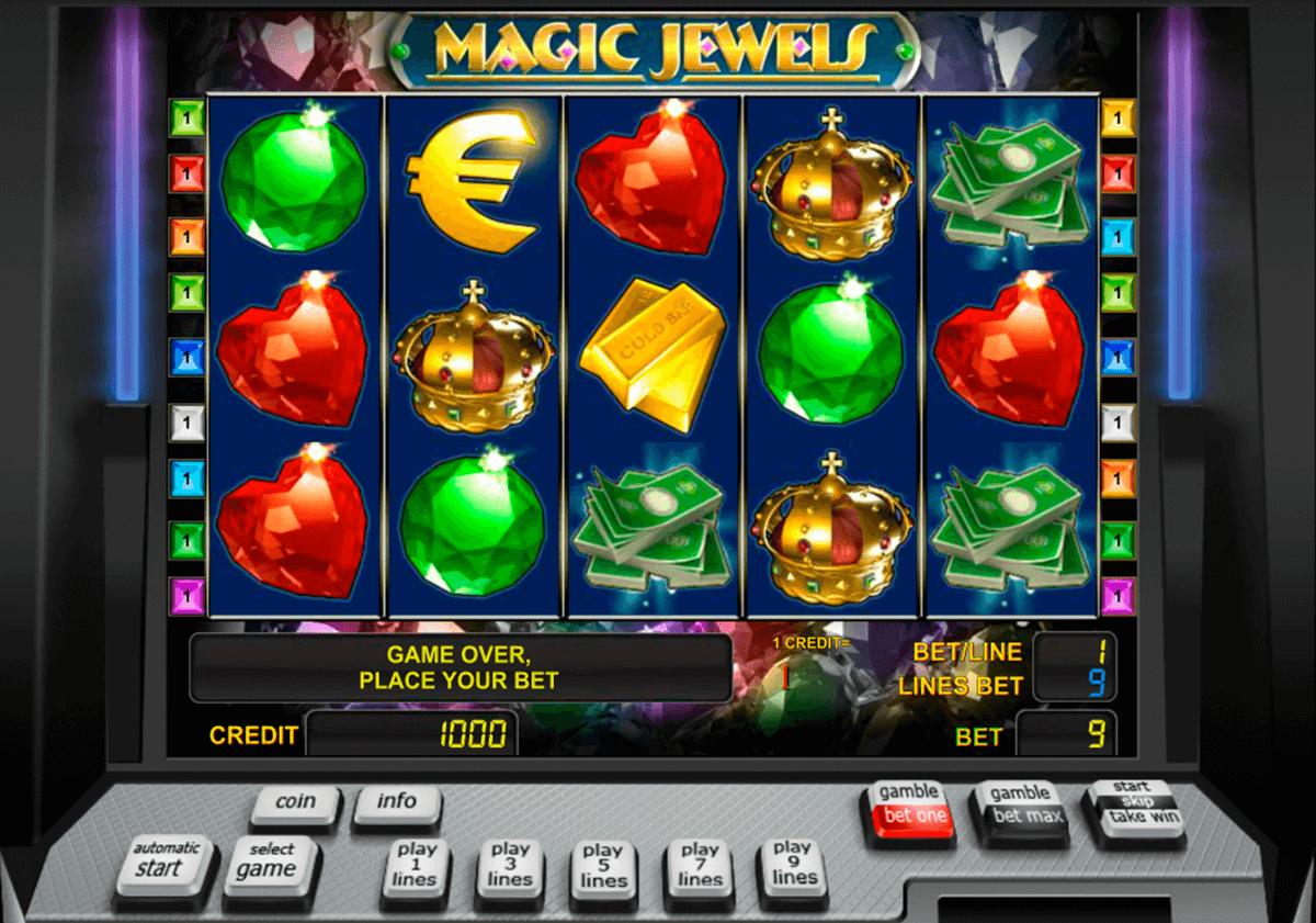 magic jewels novomatic tragamonedas gratis