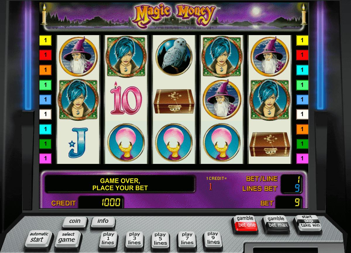 magic money novomatic tragamonedas gratis
