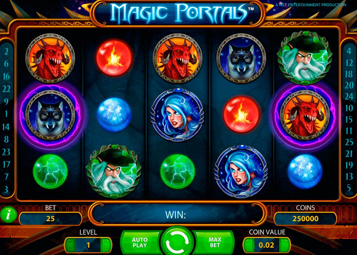 magic portals netent tragamonedas gratis