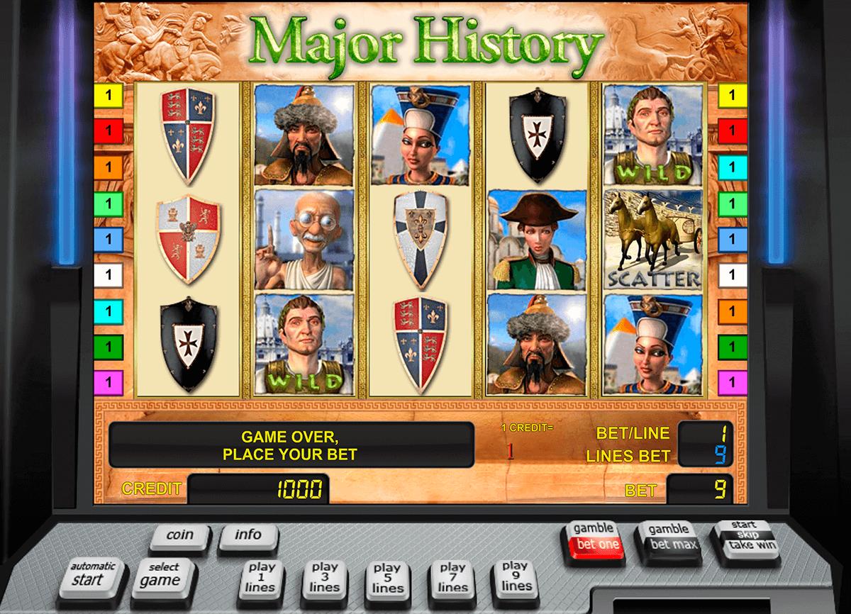 major history novomatic tragamonedas gratis