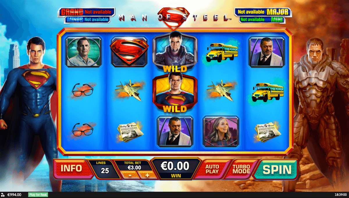 man of steel playtech tragamonedas gratis