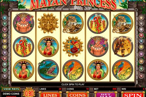 mayan princess microgaming tragamonedas gratis