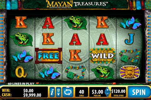 mayan treasures bally tragamonedas gratis