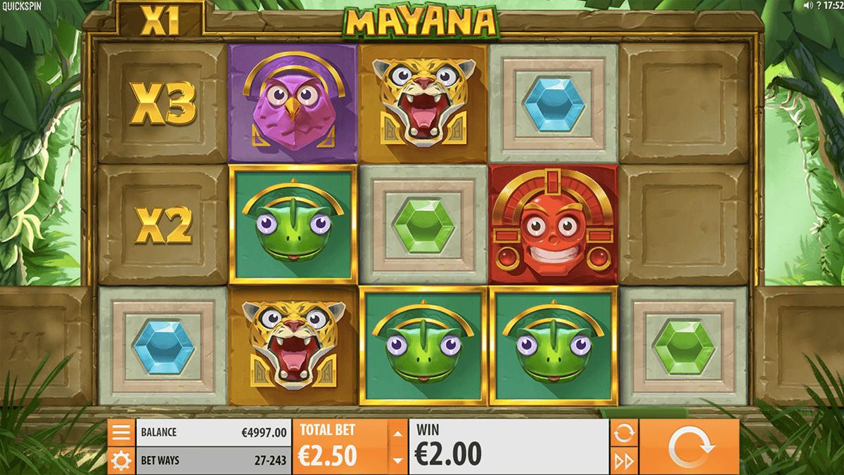 mayana quickspin tragamonedas gratis