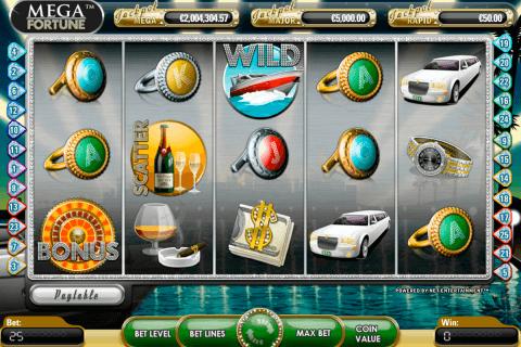 mega fortune netent tragamonedas gratis