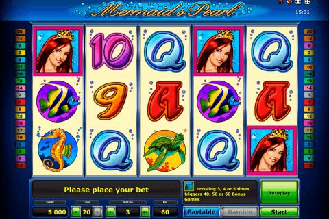 mermaids pearl delue novomatic tragamonedas gratis