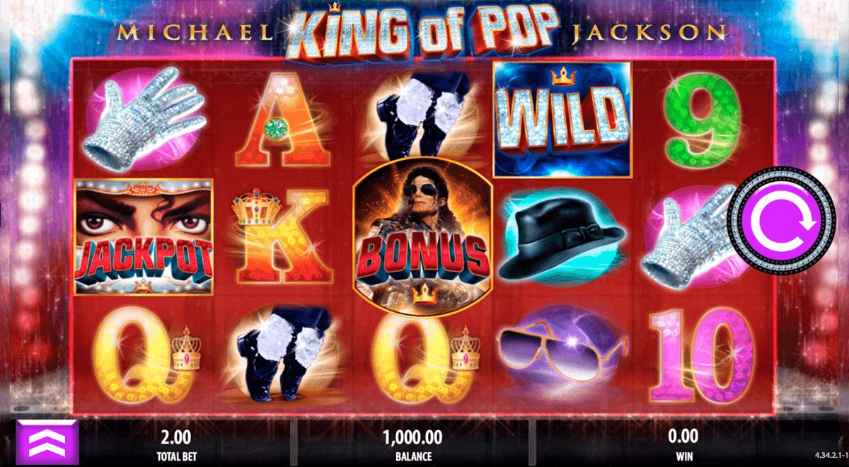 michael jackson king of pop bally tragamonedas gratis