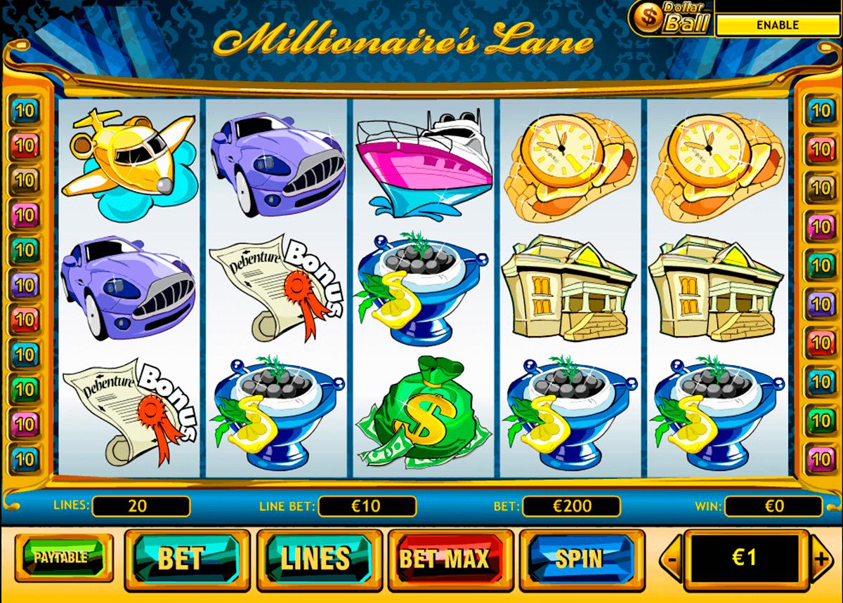 millionaires lane playtech tragamonedas gratis