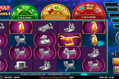 monopoly mega movers wms tragamonedas gratis