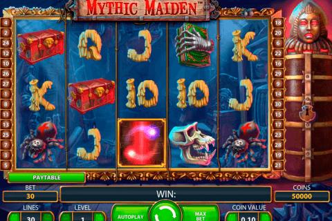 mythic maiden netent tragamonedas gratis