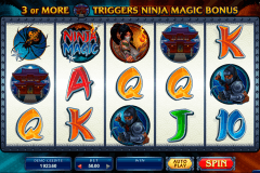 ninja magic microgaming tragamonedas gratis