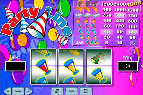 party line playtech tragamonedas gratis