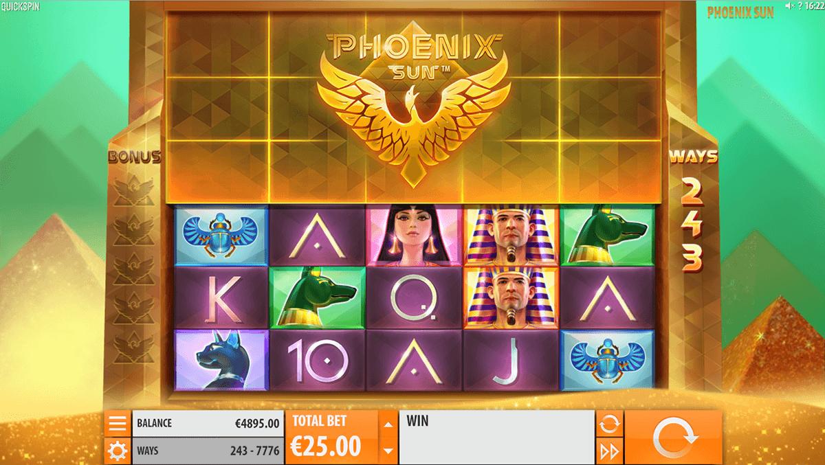 phoenix sun quickspin tragamonedas gratis