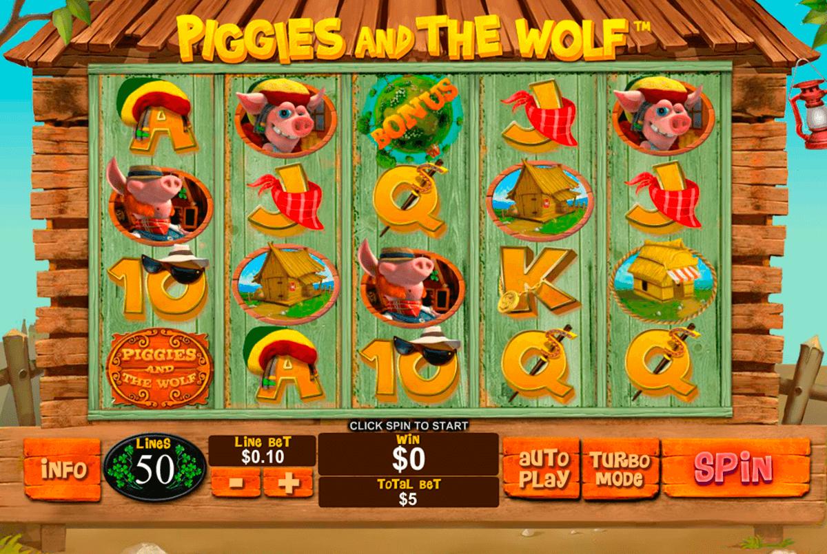 piggies and the wolf playtech tragamonedas gratis