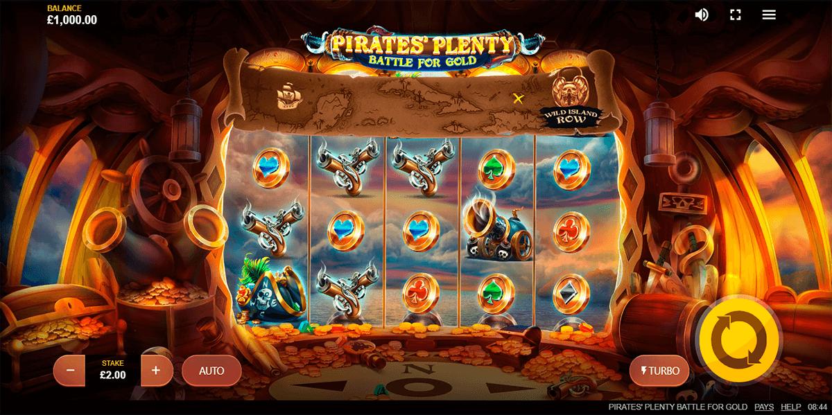pirates plenty battle for gold red tiger tragamonedas gratis