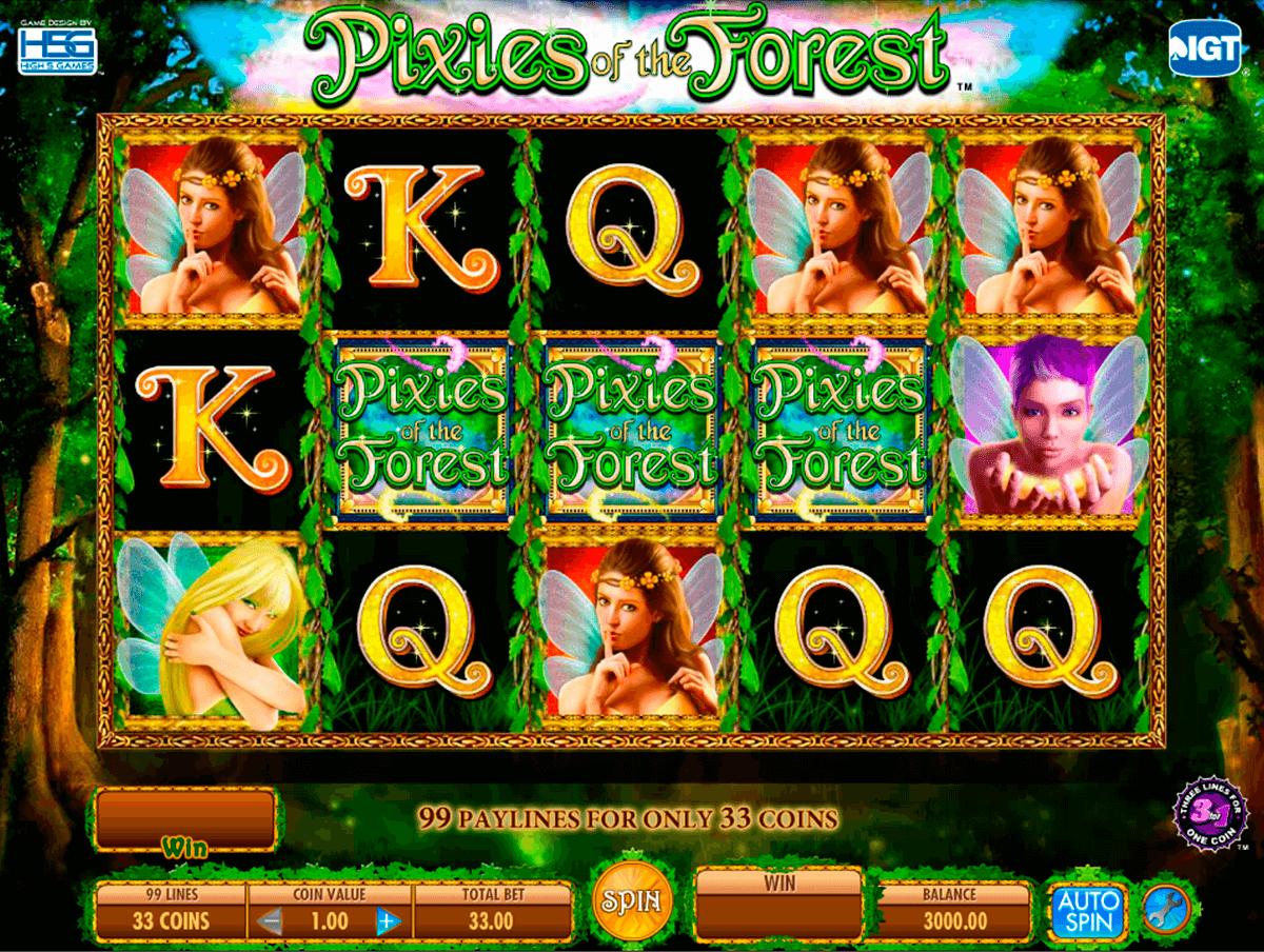 pixies of the forest igt tragamonedas gratis