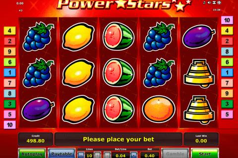 power stars novomatic tragamonedas gratis