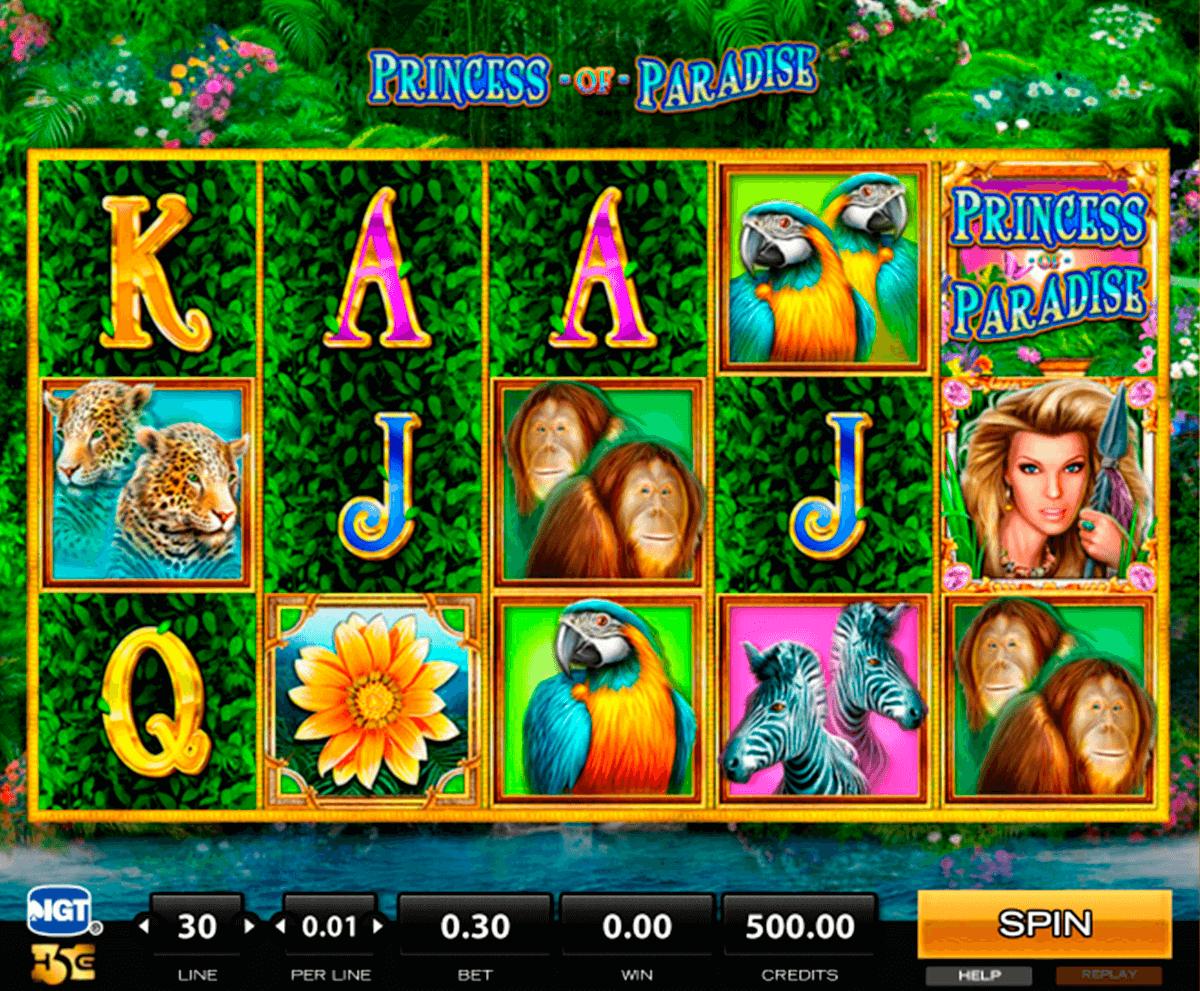 princess of paradise high5 tragamonedas gratis
