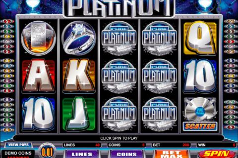 pure platinum microgaming tragamonedas gratis