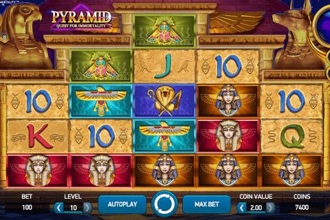 pyramid quest for immortality netent tragamonedas gratis