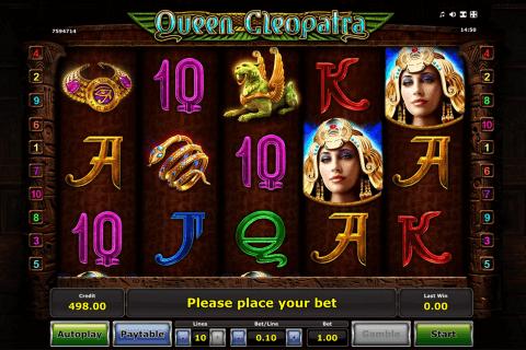 queen cleopatra novomatic tragamonedas gratis
