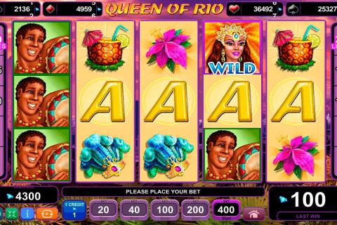 queen of rio egt tragamonedas gratis
