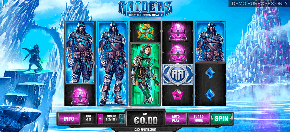 raiders of the hidden realm playtech tragamonedas gratis