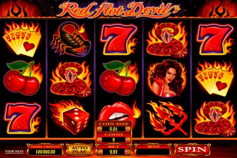 red hot devil microgaming tragamonedas gratis