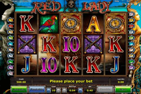red lady novomatic tragamonedas gratis