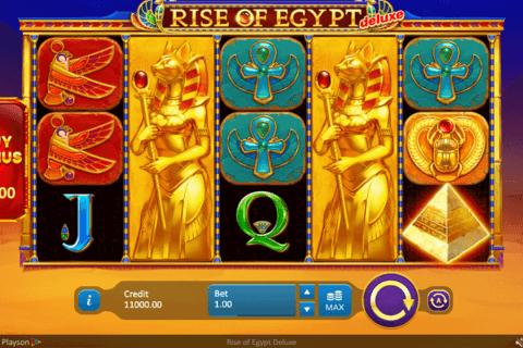 rise of egypt delue playson tragamonedas gratis