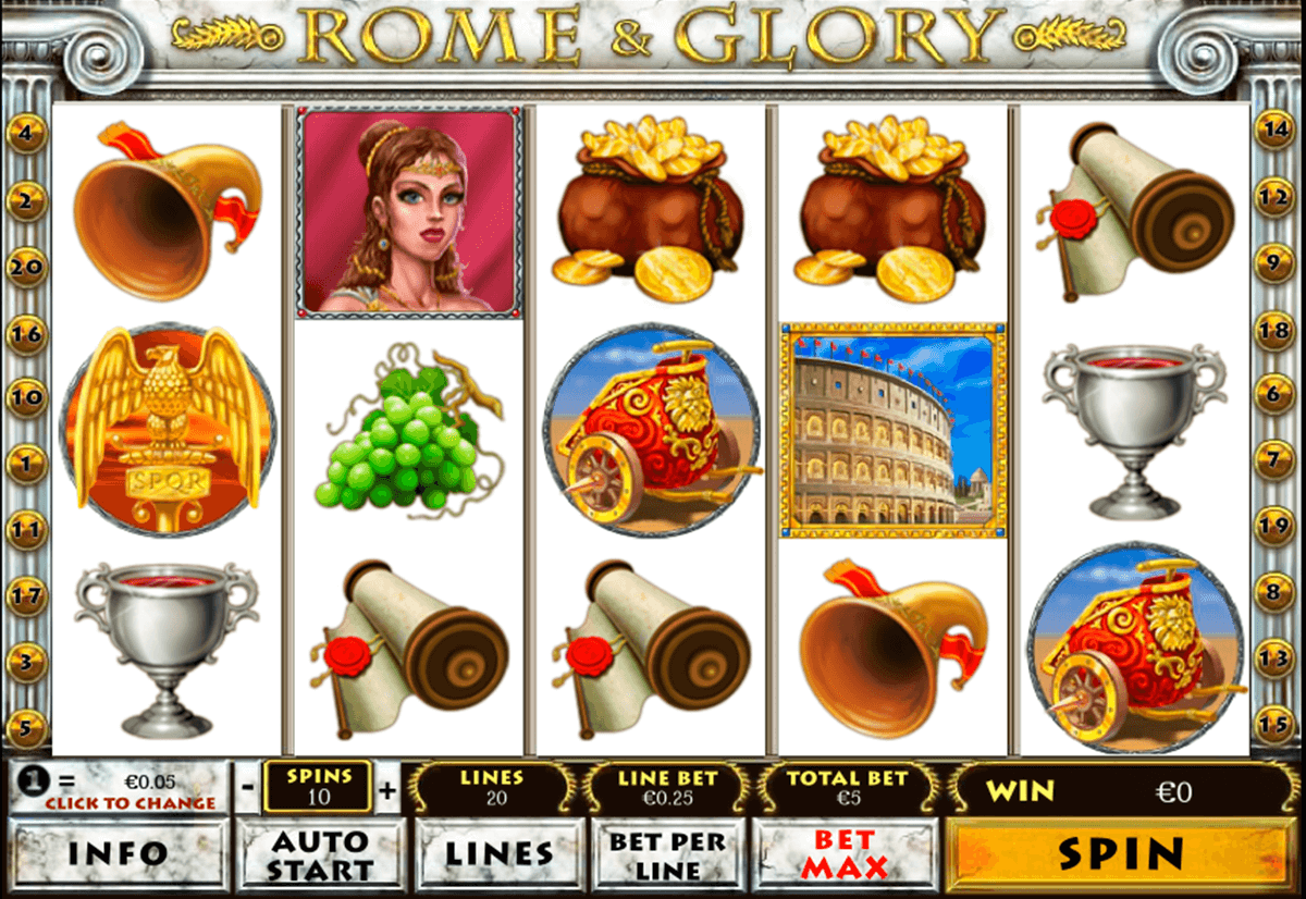 rome and glory playtech tragamonedas gratis