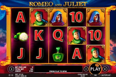 romeo and juliet pragmatic tragamonedas gratis