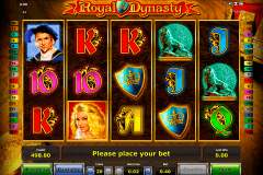 royal dynasty novomatic tragamonedas gratis
